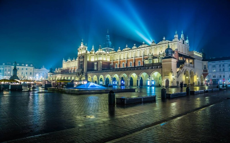 Noleggio auto a Cracovia